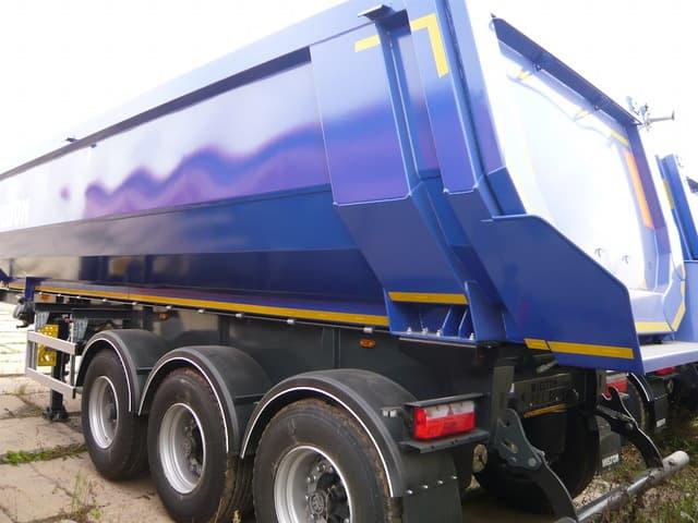 ЛКМ ДЛЯ ПРИЦЕПОВ.</br>Грунты и эмали для окраски грузовых прицепов с 5-кл покрытия.