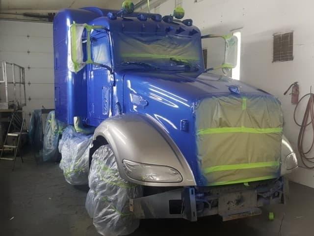 ЛКМ ДЛЯ ГРУЗОВИКОВ.</br>Грунты и эмали  для грузовых автомобилей и другой техники с 3-кл покрытия.